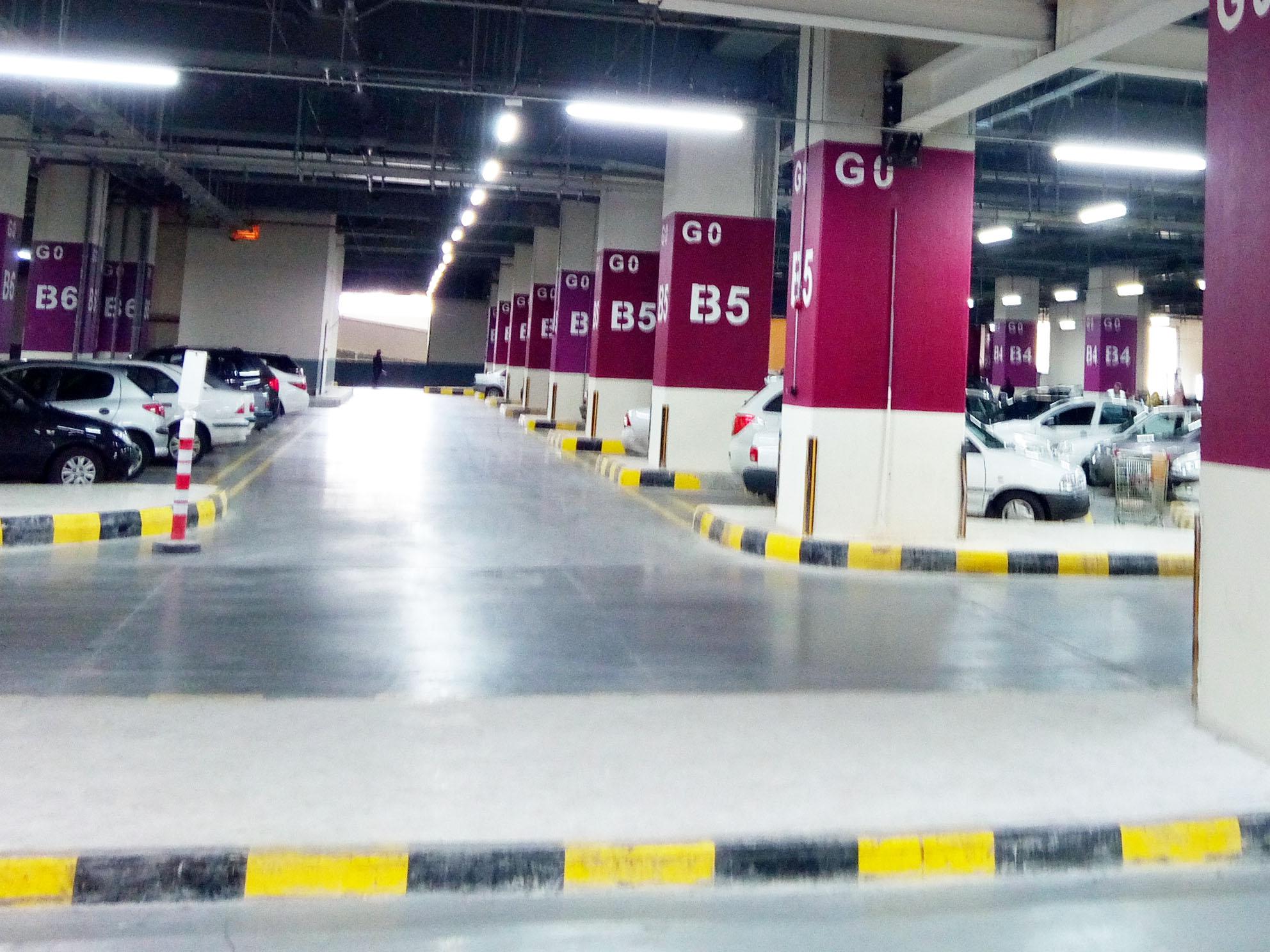پارکینگ بازار بزرگ ایران (ایران مال)