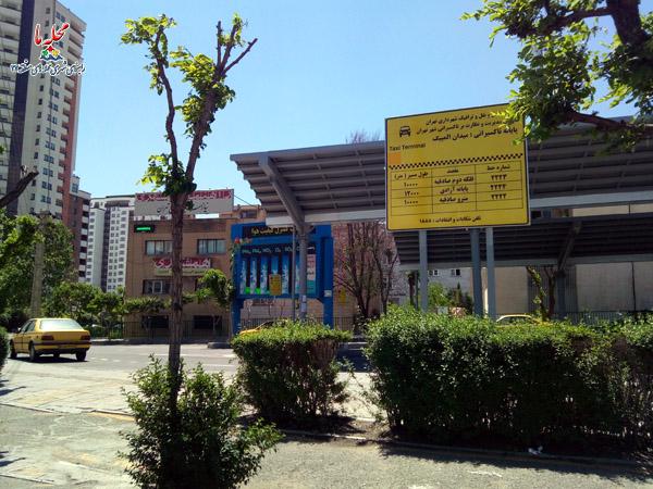 حمل و نقل همگانی منطقه 22 تهران