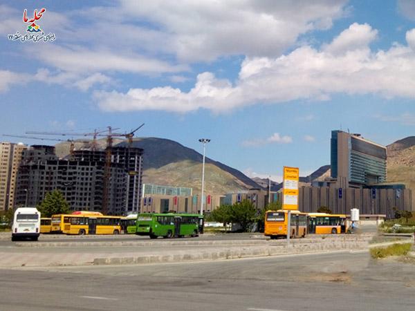 حمل و نقل عمومی منطقه 22 تهران